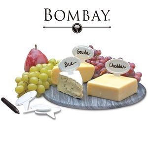Bombay Porcelain Cheese Identifiers